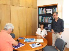 na Direção Regional dos Assuntos do Mar, com Filipe Porteiro, Diretor Regional