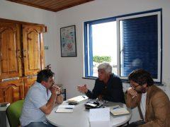 Associação de Pescadores da Ilha de S.Jorge, com António Laureno