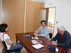 Clube Naval da Velas, S. Jorge, com o Presidente João Fontes