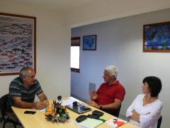Associação dos Armadores do Pico, com o Presidente José António Fernandes