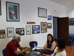 Clube Naval de S. Roque, Pico; com a Presidente Salomé Gomes