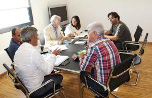 Representantes Mútua com a Direção Regional das Pescas da Madeira