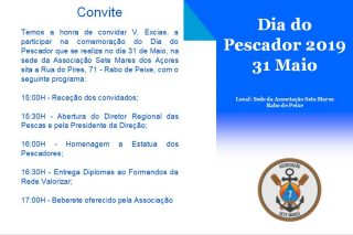 Novo local e hora: Clube Naval de Rabo de Peixe, pelas 15h15