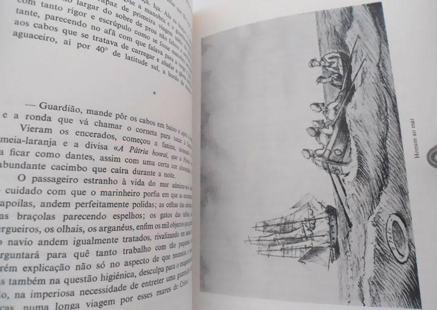 """Fotografia da obra de João Braz d'Oliveira, Narrativas Navais [Sec.XIX] ed.1970, Ministério da Marinha n.3 e 4 – uma das obras referenciadas no Livro """"Memórias Navais"""""""